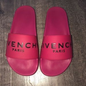 GIVENCHY slides! *USED but super good condition!!!